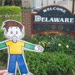 Flat Stanley in Delaware, Ohio, United States