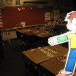 Flat Stanley in Mrs. Williams classroom