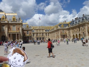 Flat Stanley at the Palace of Versailles