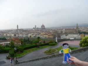 Flat Stanley in Florence