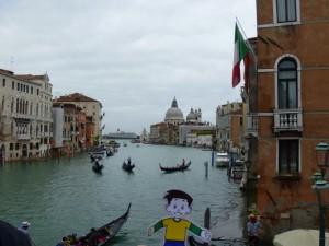 Flat Stanley in Venice