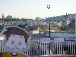 Flat Stanley arriving in Morocco