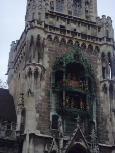 Glockenspiel in Munich