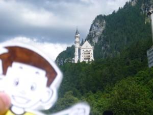 Flat Stanley at Schloss Neuschwanstein